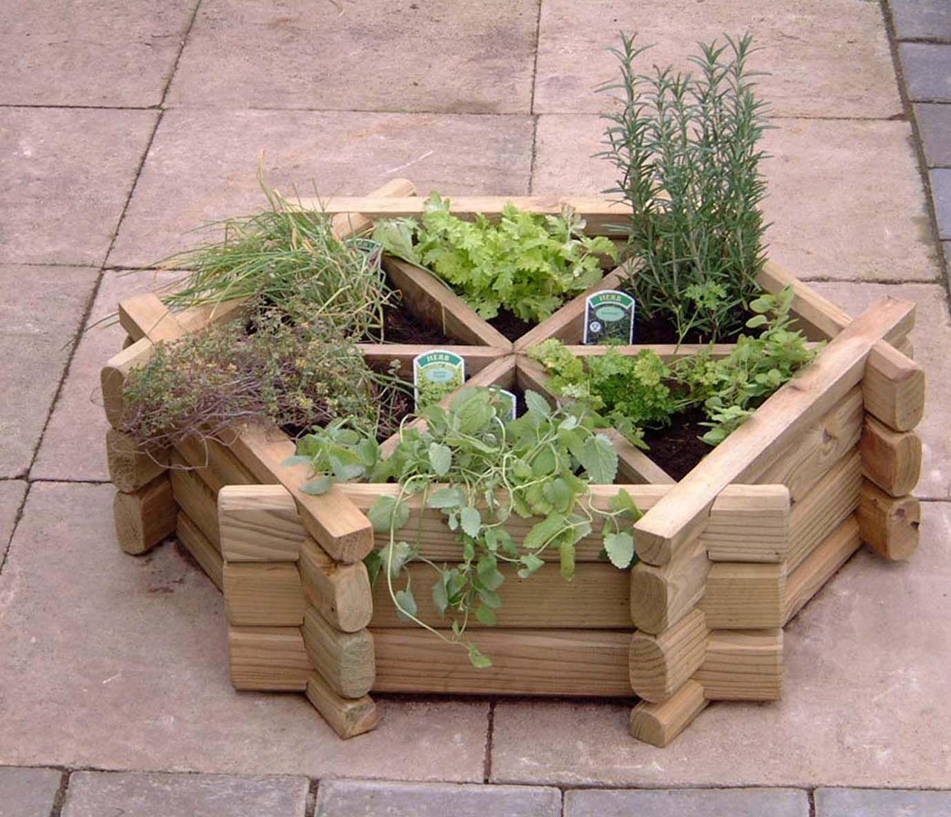 Herb Garden Design Ideas Photo 6 Raised Herb Garden Herb Garden Design Container Herb Garden