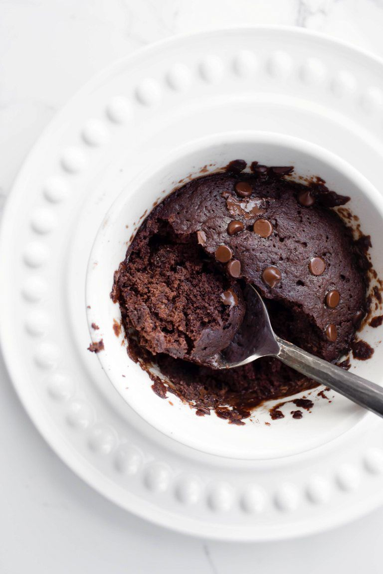Chocolate Mug Cake Vegan And Gluten Free Recipe Chocolate