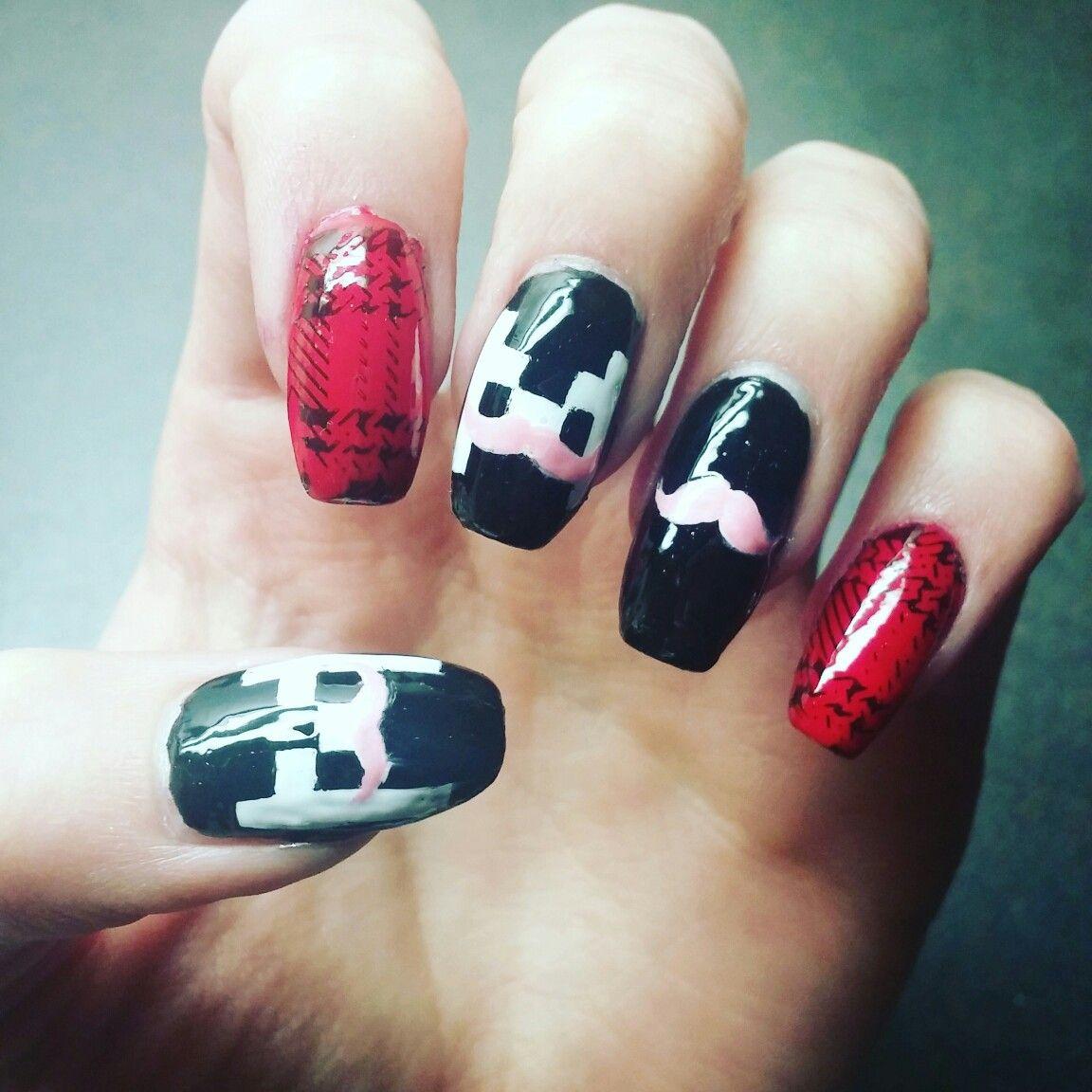 Markiplier Nails! #nerdnails #youtubernails   Geek / Nerd love ...
