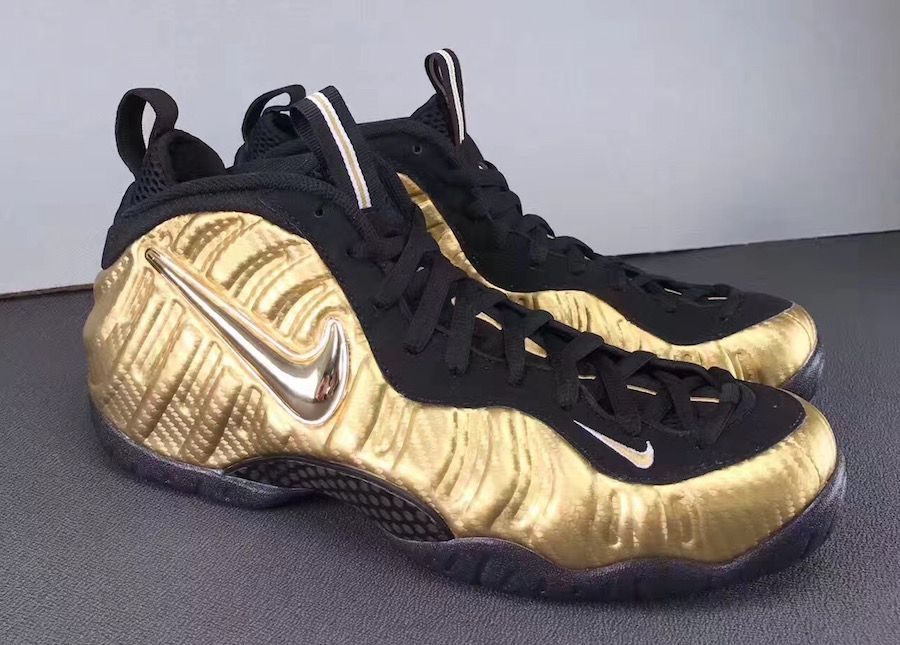 sports shoes c47d0 3426c Nike Air Foamposite Pro Metallic Gold Release Date - Sneaker Bar Detroit  pιnтereѕт   ιѕѕaqυeen13✨