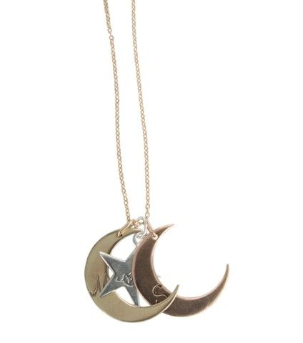 6c1dd490f9b3b You are My Moon and Stars, Stackable Necklace - Catbird | women's ...