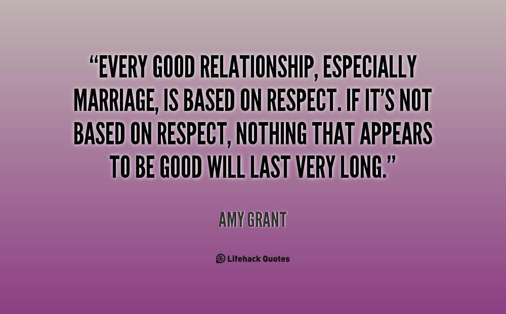 The Key To A Good Relationship Quotes