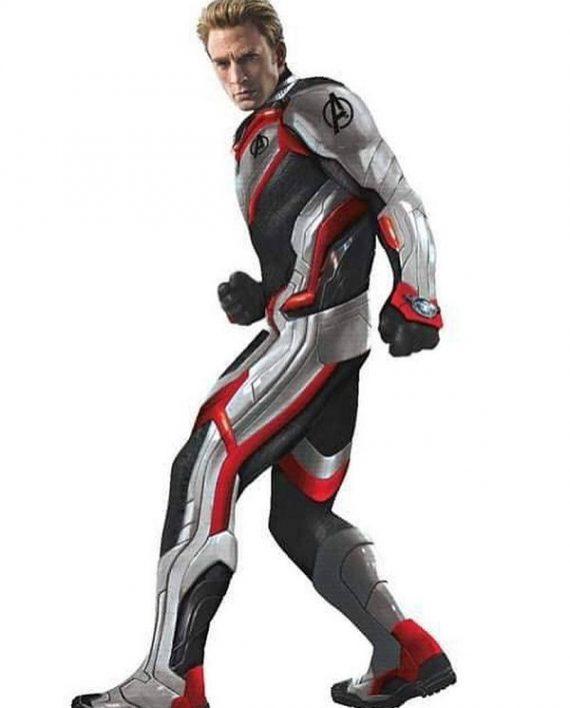 Avengers Endgame Captain America Cosplay Jacket