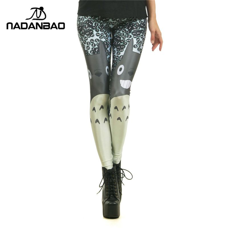 157d705d08f476 Hot Sale Popular Legging Miyazaki Comics Totoro Legins Cartoon Leggins  Printed Women Leggings Sexy Women Pants WOW Visit our store