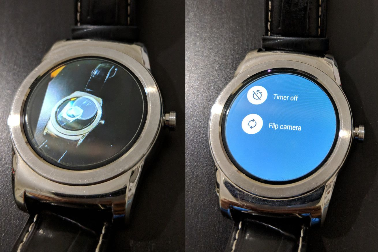 Pixel phones can use Wear OS smartwatches as a camera