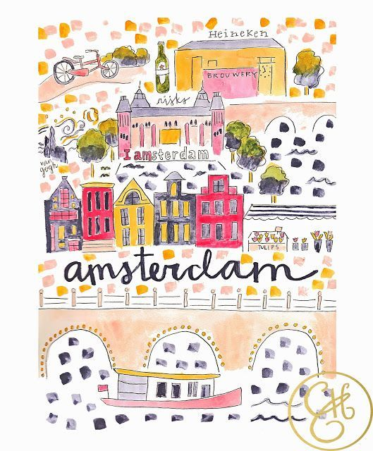 Amsterdam Map www.evelynhenson.com #style #shopping #styles #outfit #pretty #girl #girls #beauty #beautiful #me #cute #stylish #photooftheday #swag #dress #shoes #diy #design #fashion #Travel