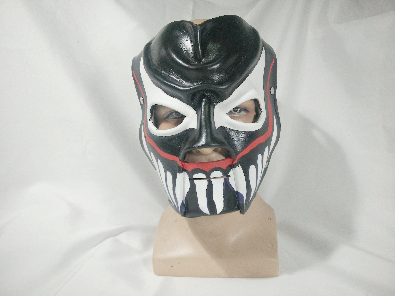 Leather Demon Finn Balor face paint The Beast in the East