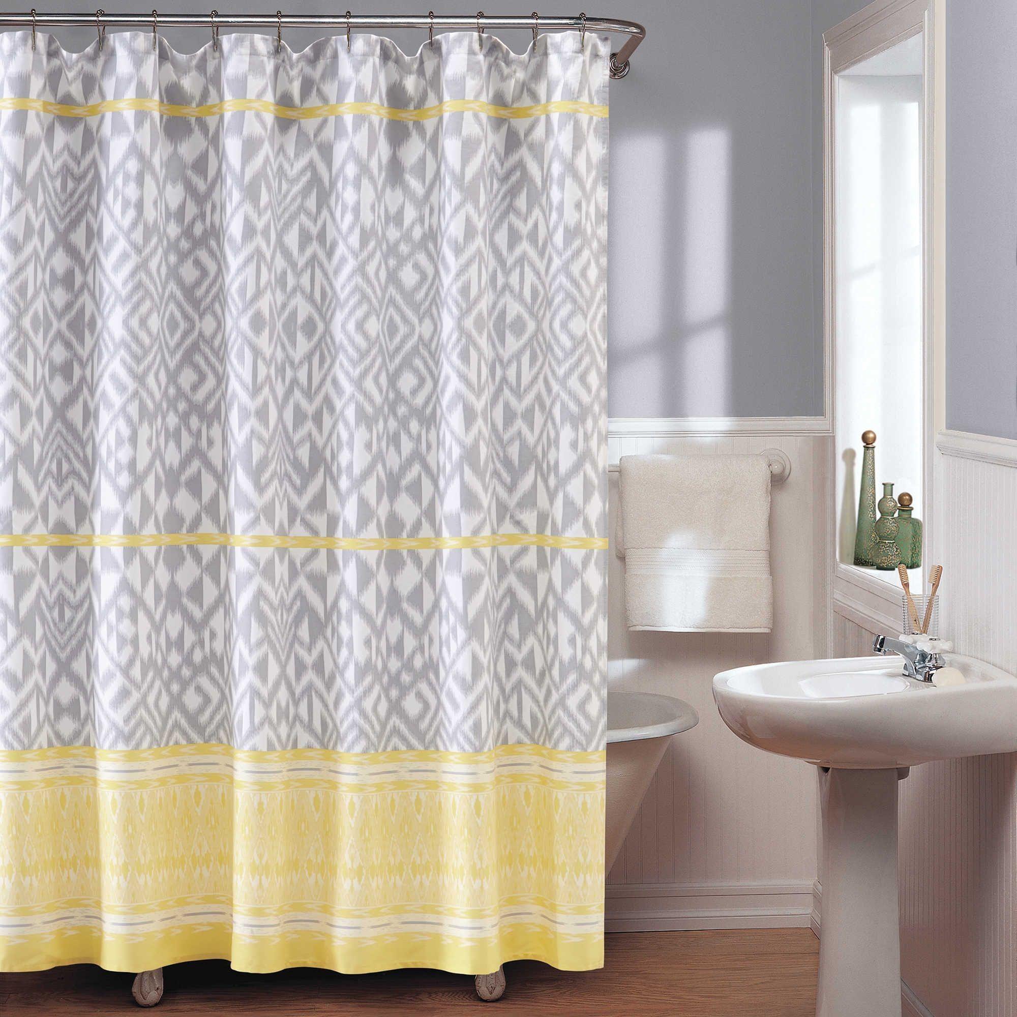 Unique Short Width Shower Curtain