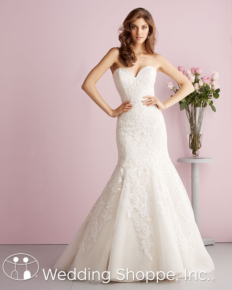 Allure Romance Bridal Gown 2709 | Things to Wear | Pinterest ...