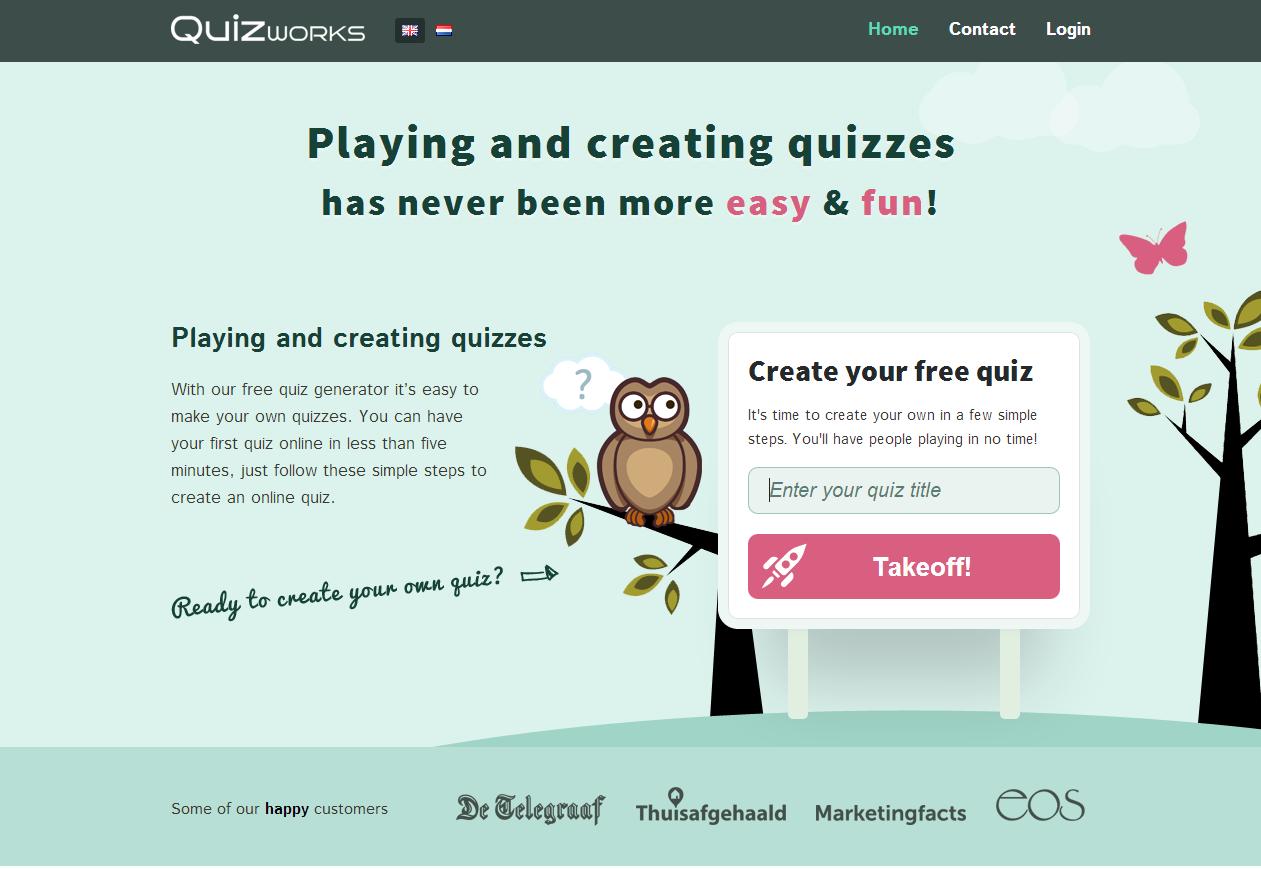How to make your own online quiz Online quiz, Quiz, Quiz