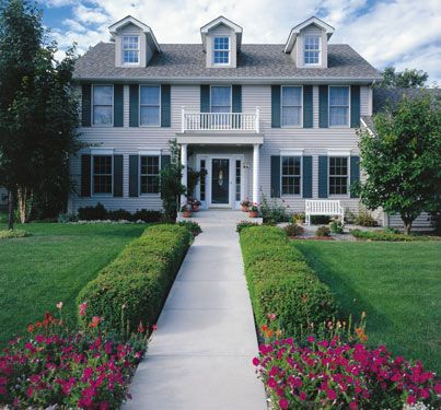 History Of American Colonial Homes House Plans And More Colonial House Colonial Style Homes Colonial Style