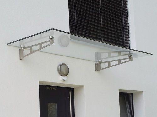 Auvent du0027entrée en verre AL-SKY® Easy LängleGlas GmbH giardino