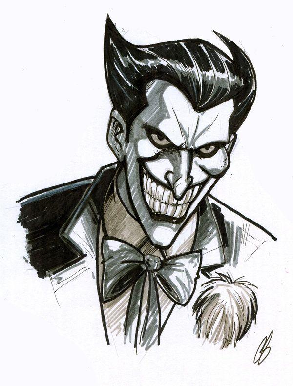 The Joker Chris Butler Art Draw Color Joker Dessin Joker