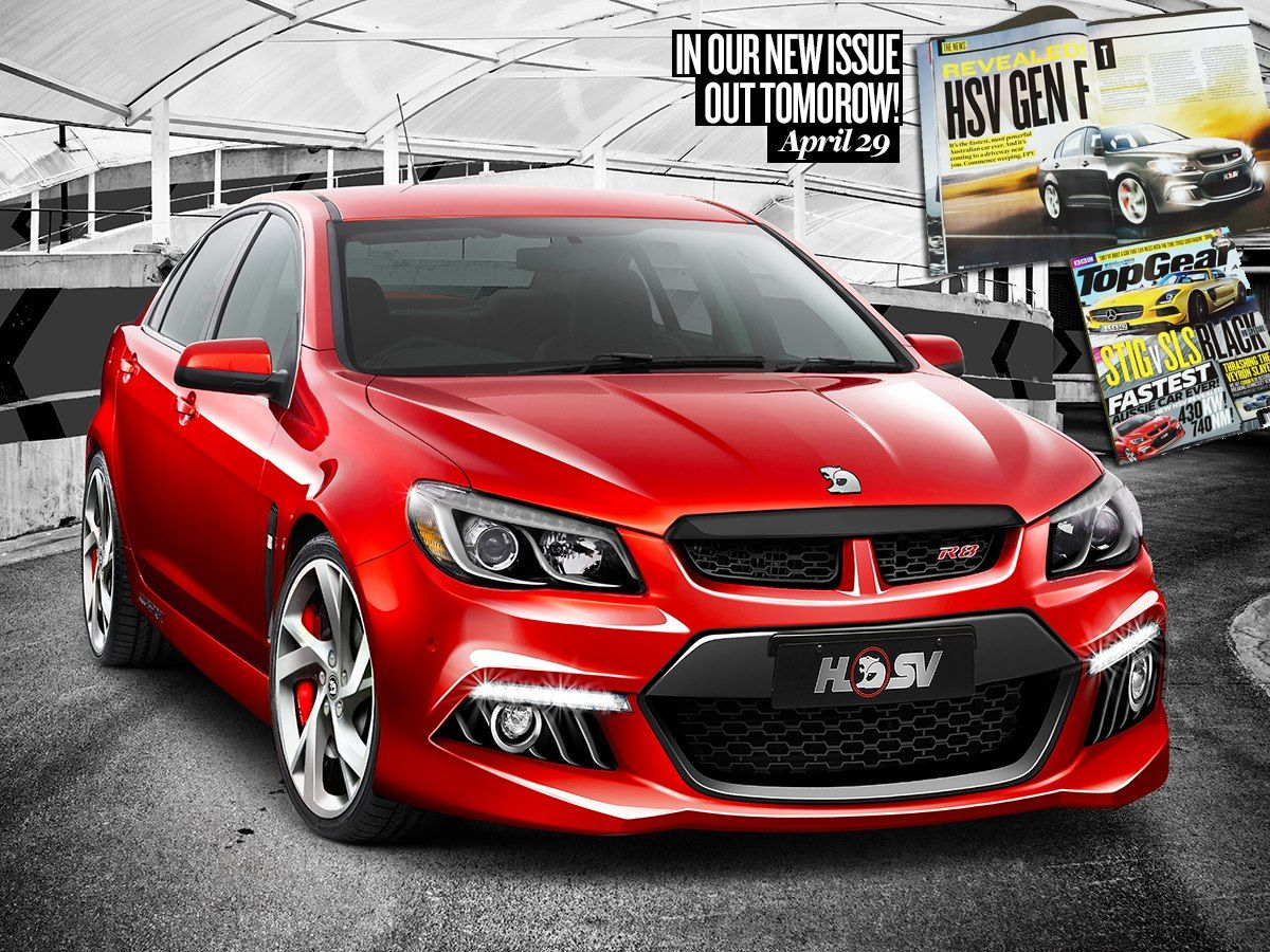 THE FASTEST AUSTRALIAN CAR EVER! We can confirm the new VF HSV GTS ...