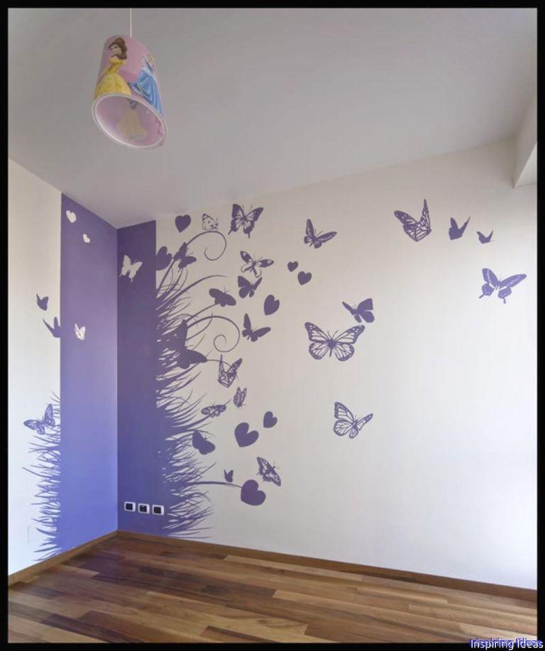 41 Gorgeous Wall Painting Ideas That So Artsy Pokraska Vannoj Cveta Krasok Interer Kartiny Dlya Gostinoj