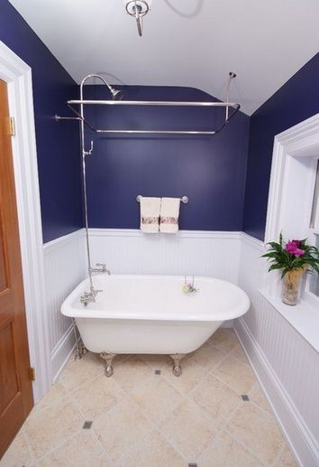 Navy Blue And White Paint Color For Small Bathroom Bathroom - Navy blue bathroom accessories for small bathroom ideas