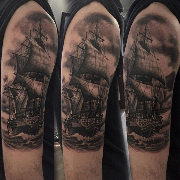 100 boat tattoo designs tattoo designs boating and tattoo. Black Bedroom Furniture Sets. Home Design Ideas