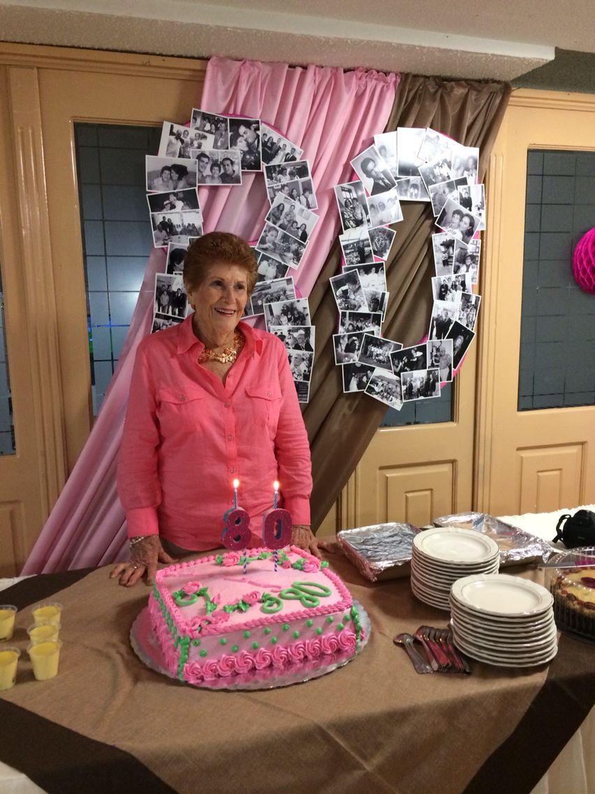 80 a os de la abuela fiesta para mujer pinterest la for Decoracion 80 anos hombre