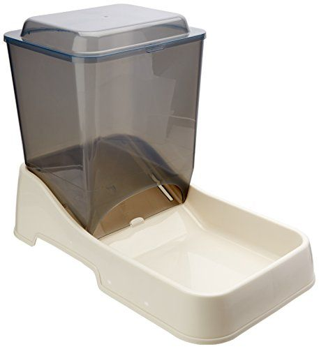 Van Ness Large Auto Feeder 10 Pound Dog Food Container Dog