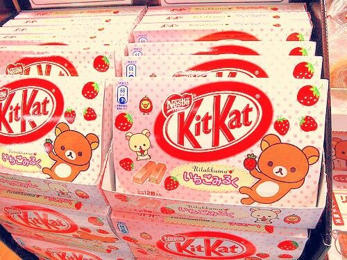 rilakkuma kitkat bars japanese asian cute