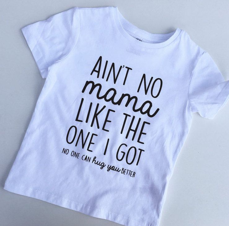 Ain't No Mama Like The One I Got - No One Can Hug You Better - Unisex Toddler T-Shirt - Trendy - Modern - Kids - Photoshoot by LittlePiggyToesCo on Etsy