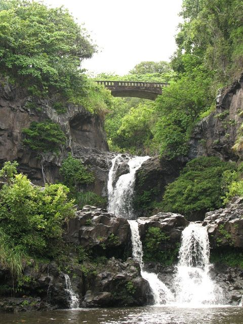 Maui Ohe O Gulch Seven Sacred Pools Travel Locations Around The Worlds Places To Go