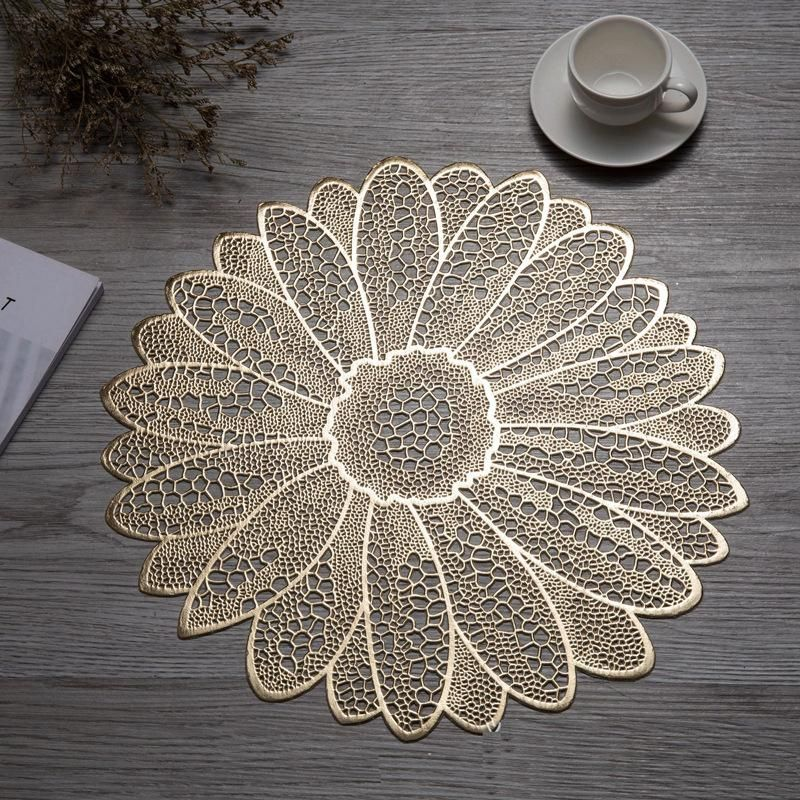 Flower Shape Creative Table Mat Unique Placemats Flower Shape
