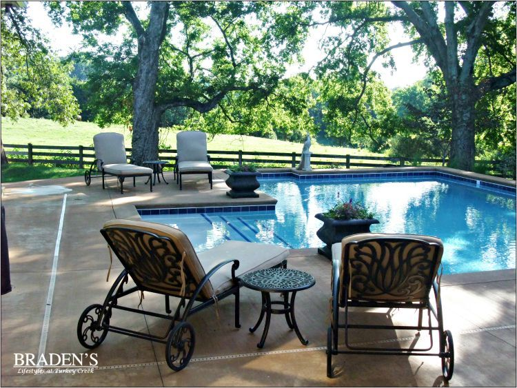 Outdoor Furniture In Knoxville Patio Poolside Décor Home
