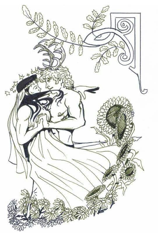 God And Goddess Coloring Pagan Art Pattern Coloring Pages Coloring Pages
