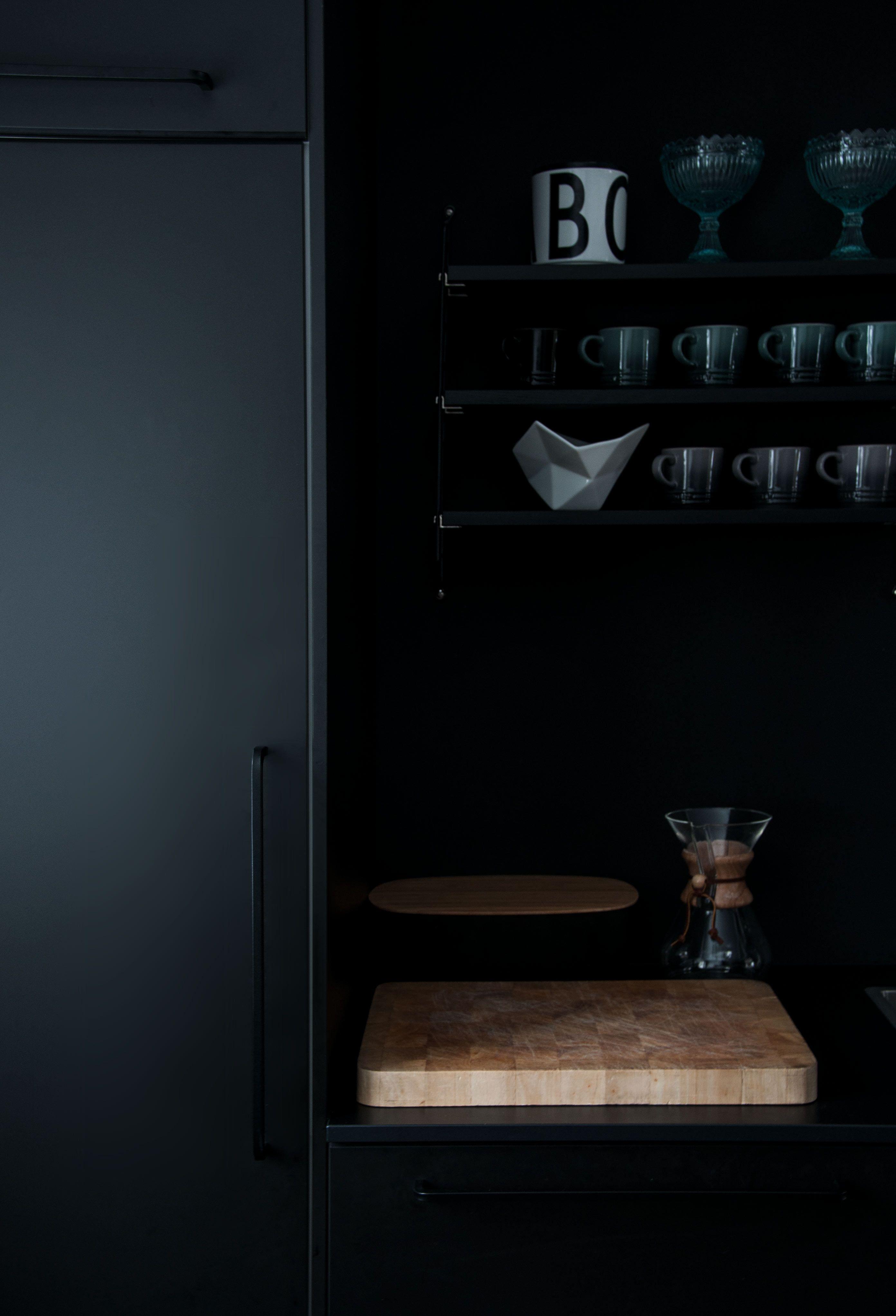 All Black Kitchen. Black kitchens, Kungsbacka, Instagram