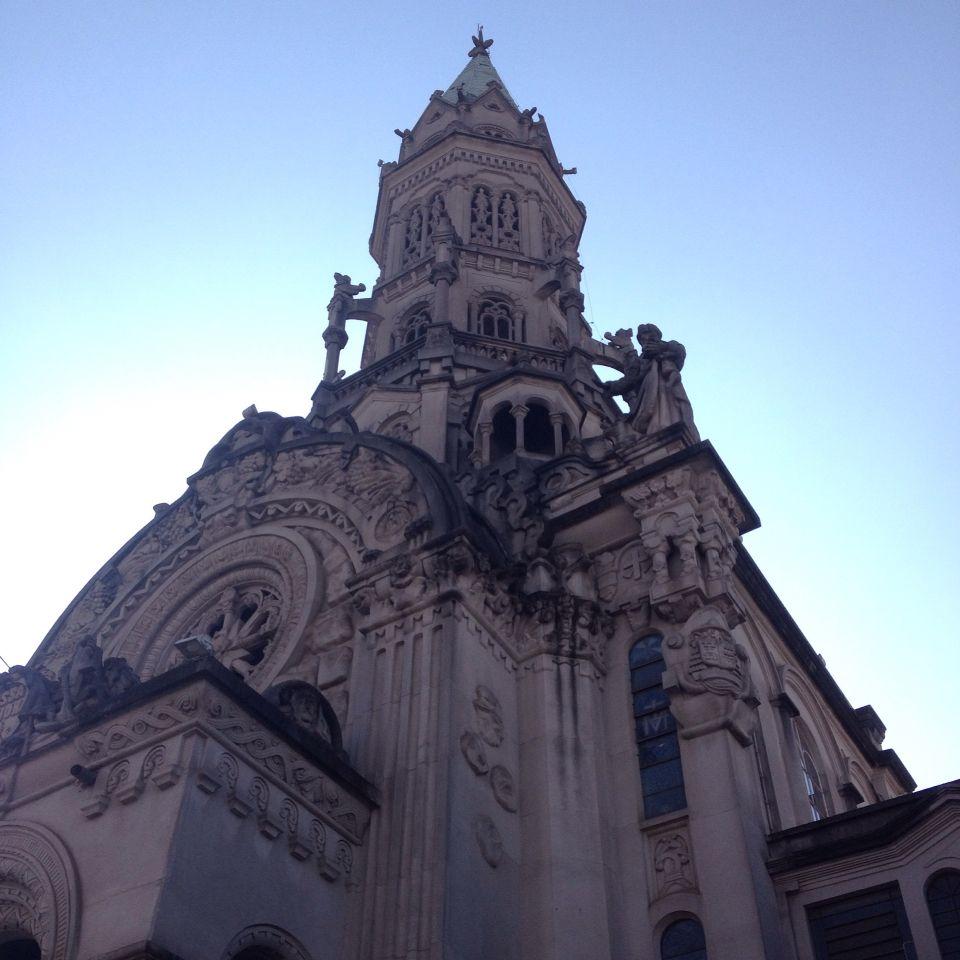 Paróquia Nsa. Sra. Saúde. Rua Domingo de Morais.