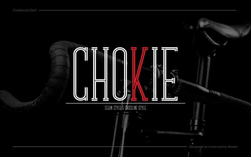 Chokie Crossline Style Font in 2020