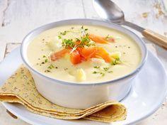 Photo of Soupe au chou-rave et aux pommes de terre au saumon fumé et au cresson recette | DÉLICIEUX