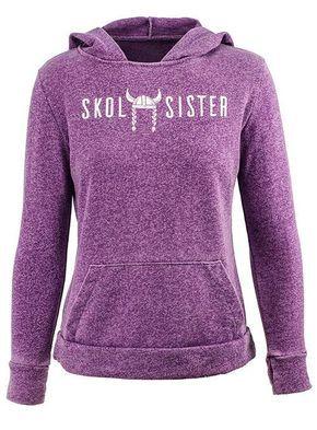 e2e8d825f Vikings Ladies Skol Sister Pullover Hooded Sweatshirt