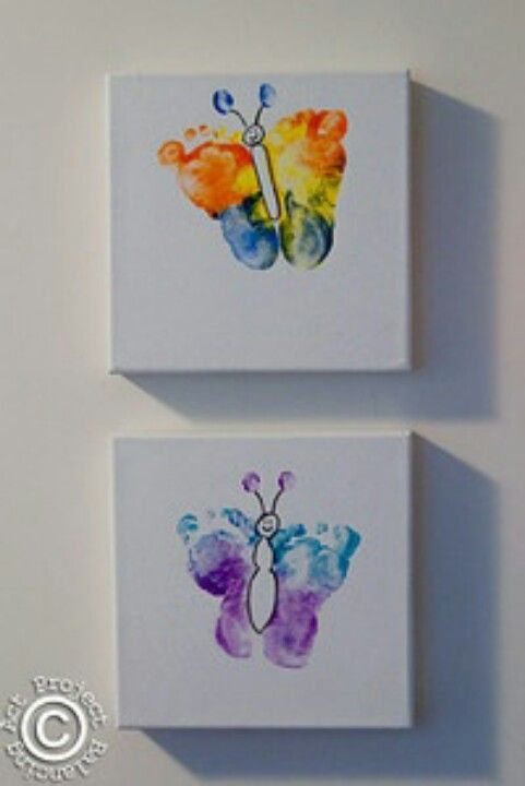 Baby feet art