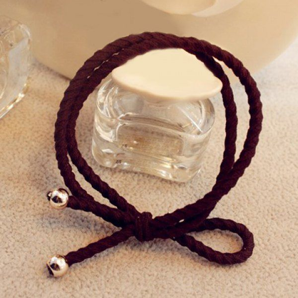Trendy Double-Layered Bowknot Elastic Hair Band For Women