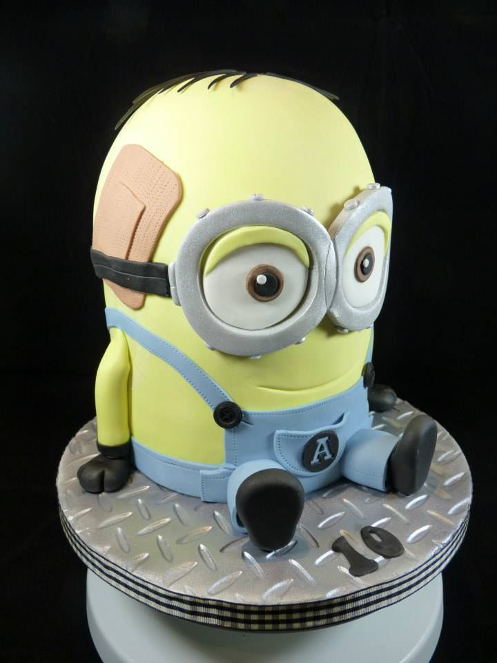 Dave the minion cake minions minion cake cake