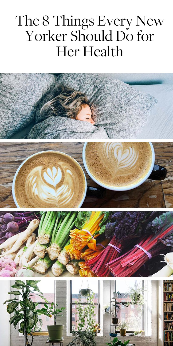 From healthy sleep habits to caffeine intake, every New Yorker should do these things to be more health conscious and live their best life.