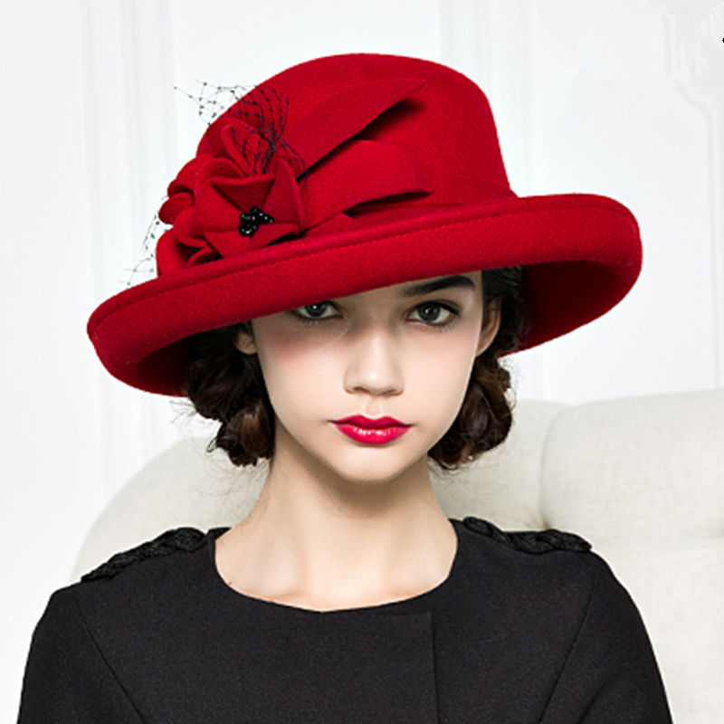 hat with flower - Google Search