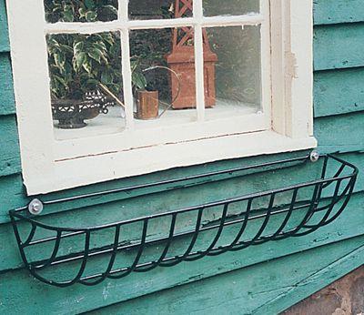 44 Euro Classic Hayrack Planter Basket Only No Liner Window Planters Window Box Planter Liners