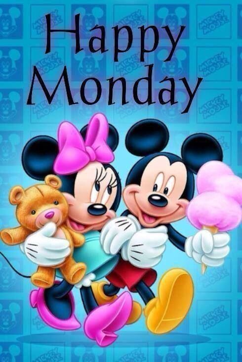 Happy Monday quotes quote disney mickey mouse days of the week ...