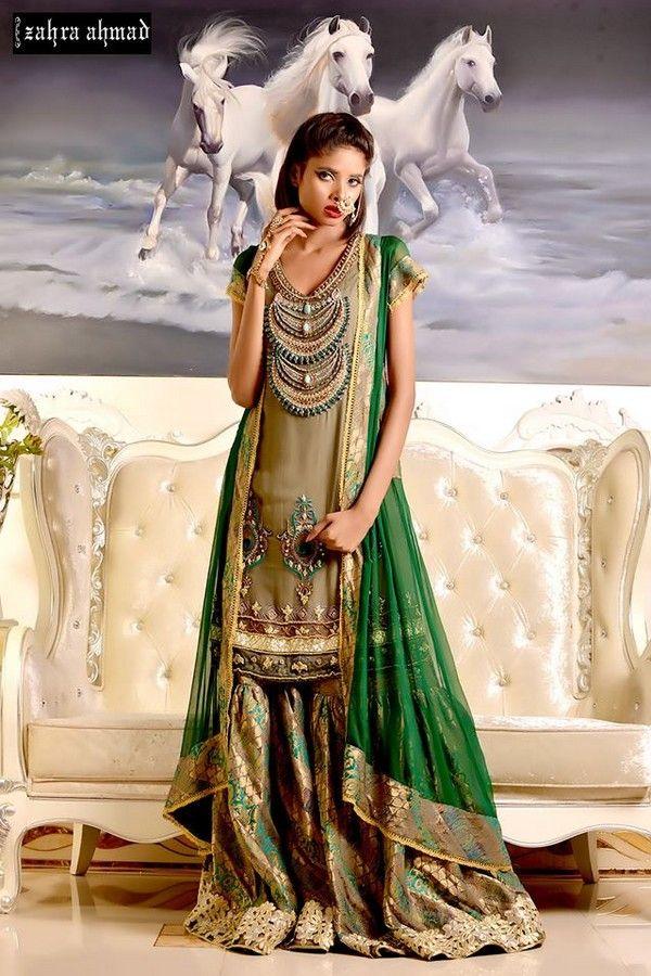 Latest Pakistani Dresses 2015 Party Girls