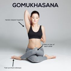 how to do the gomukhasana and what are its benefits