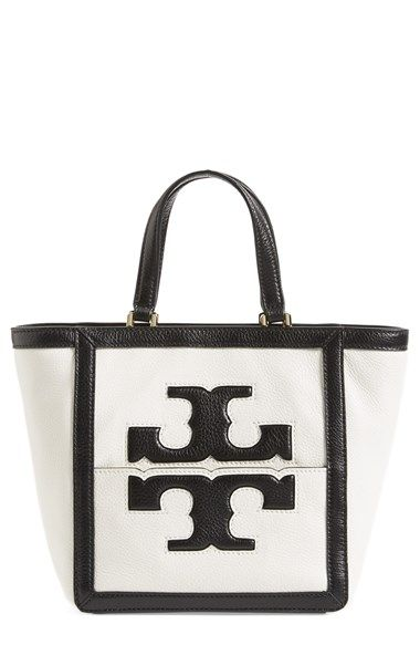 c185a48d66f Tory Burch  Mini Jessica  Leather Tote available at  Nordstrom ...