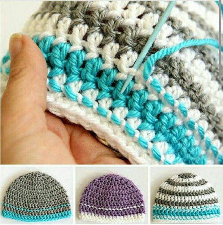 Instagram. Crochet stitch   beanues   Pinterest   Patrones