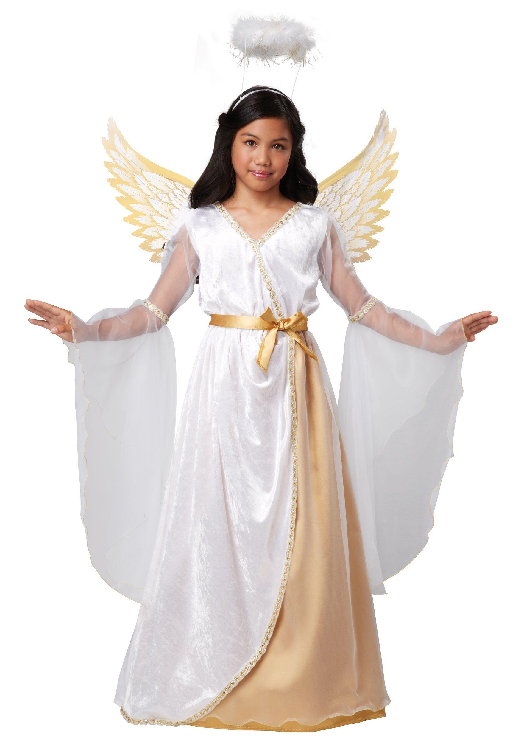Christmas dress teen - Girls Guardian Angel Costume