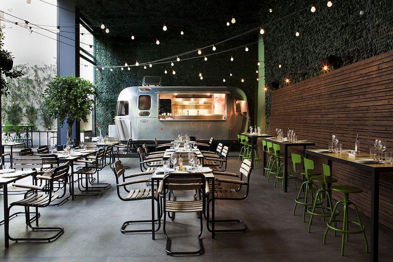 Camping Themed Restaurants Coffee Shop Design Cafe Design Bar Design