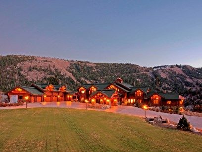 Biggest Luxury Log Homes June Lake Log Home Estate Mammoth Lake Ca Single Family Home Los Waterfront Homes For Sale