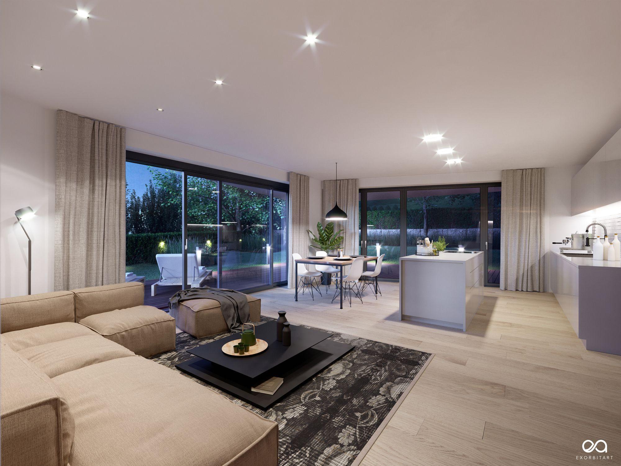 Blue Hour Mood. . Project Villa Stuttgart  Sillenbuch Client ...