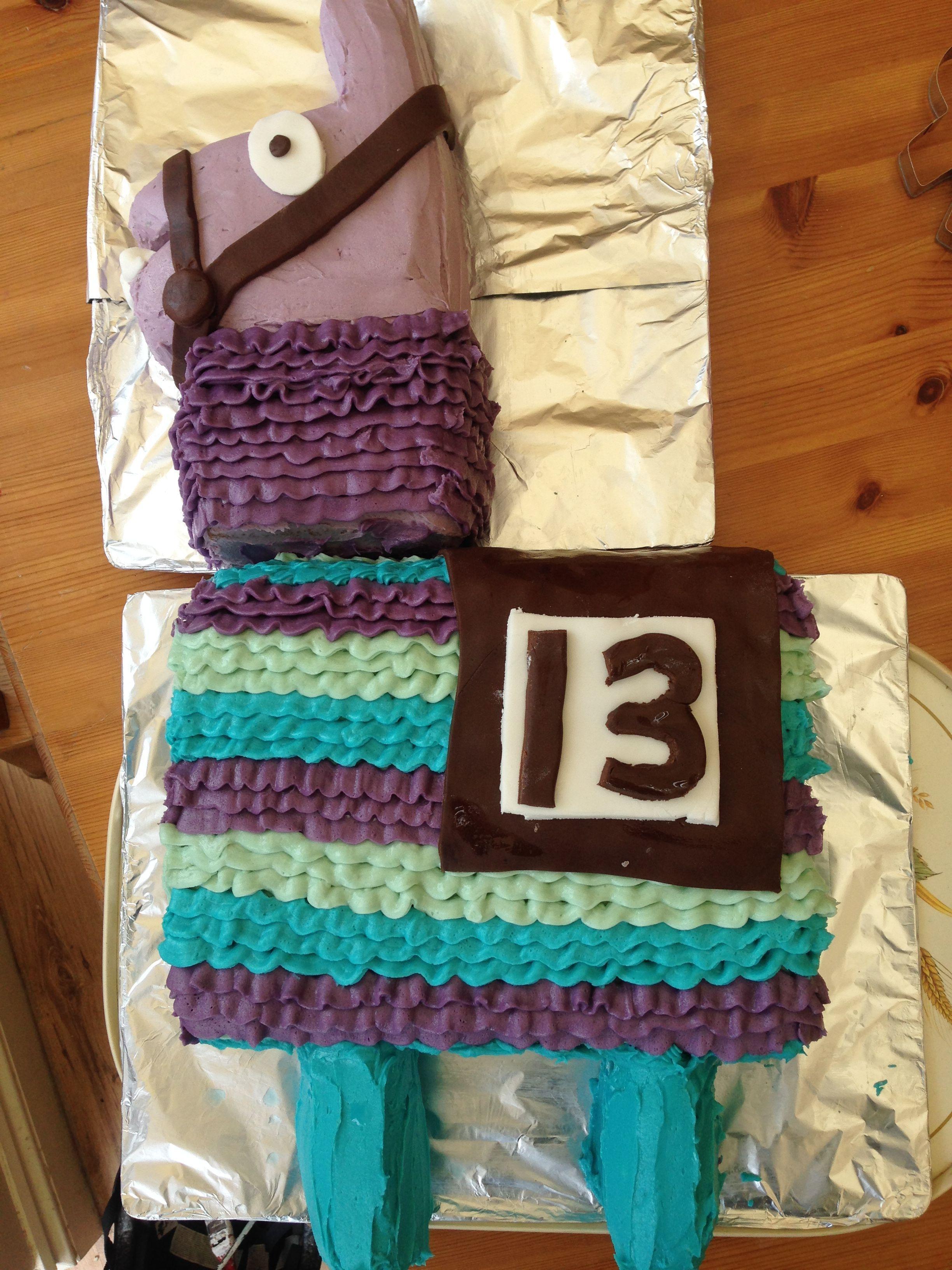 Photo of Loot llama piñata cake – Llama cupcake cake – Felix Blog –  Loot llama piñata …